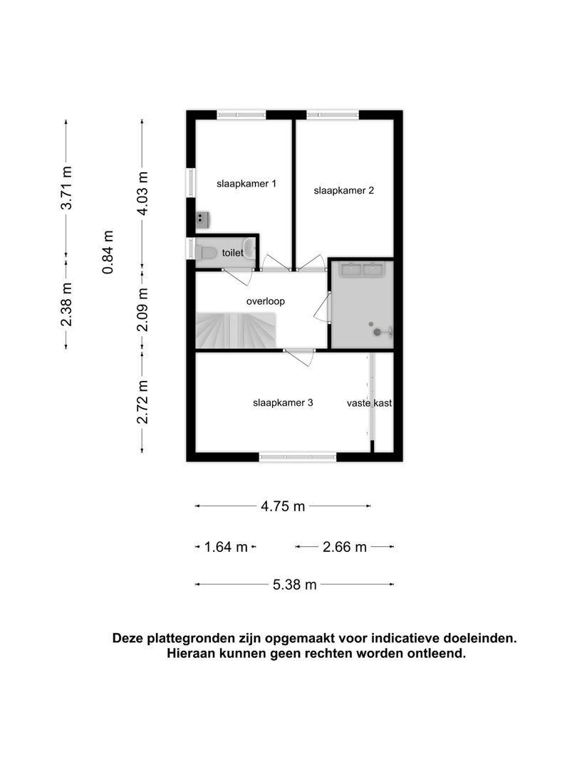 Van den Bergstraat 24 plattegrond-31