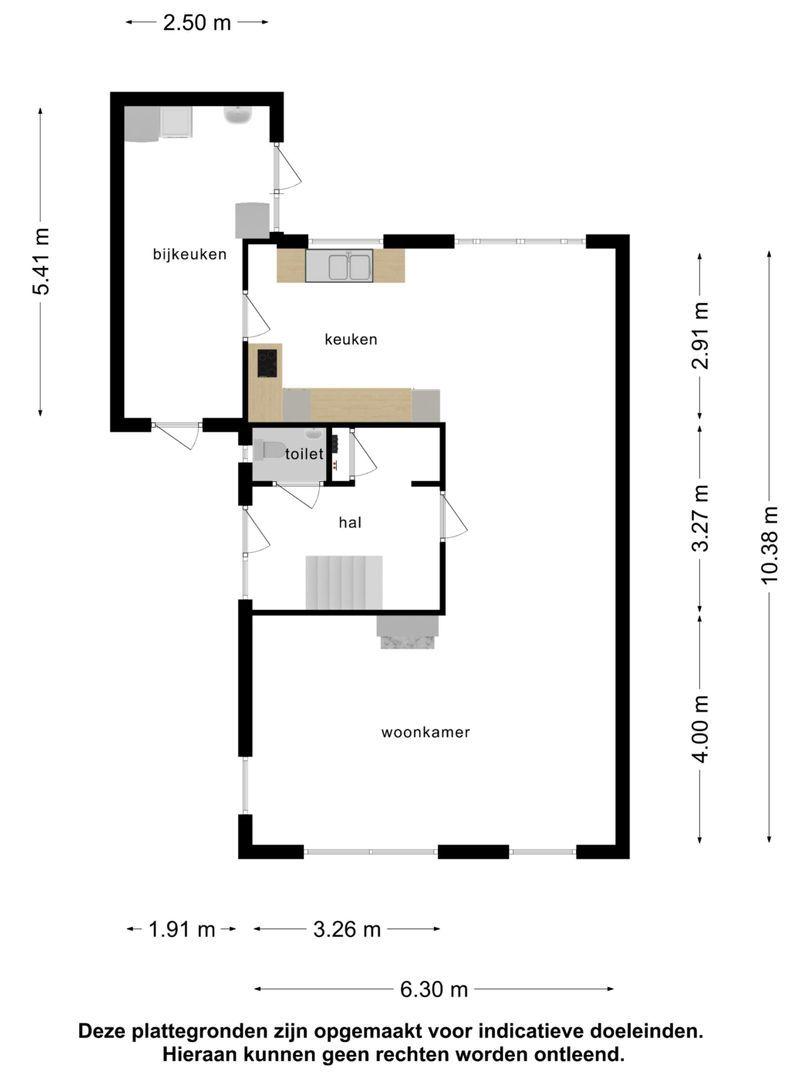 Oost-Voorstraat 97 plattegrond-29