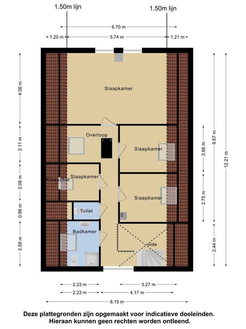 Wilhelminastraat 1 a plattegrond-25