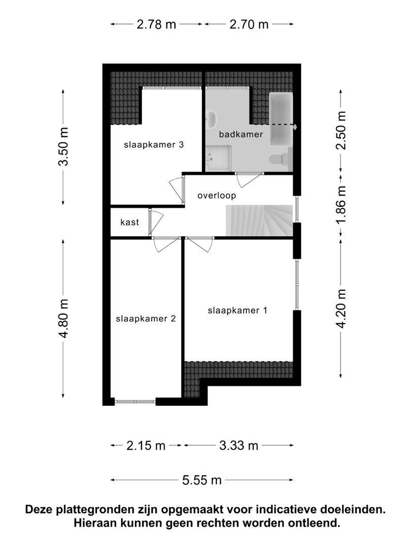 Biezengors 38 plattegrond-28