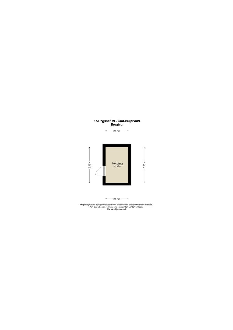Koningshof 19 plattegrond-27
