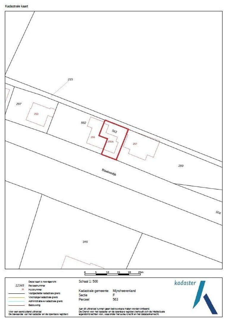 Blaaksedijk 255 a plattegrond-25