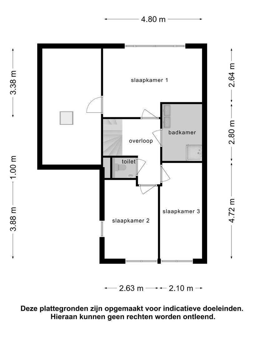 Oogstlaan 3 plattegrond-43