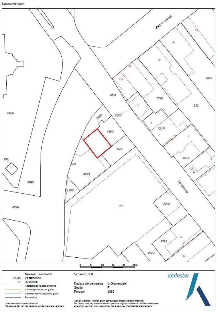 Langestraat 3 a plattegrond-29