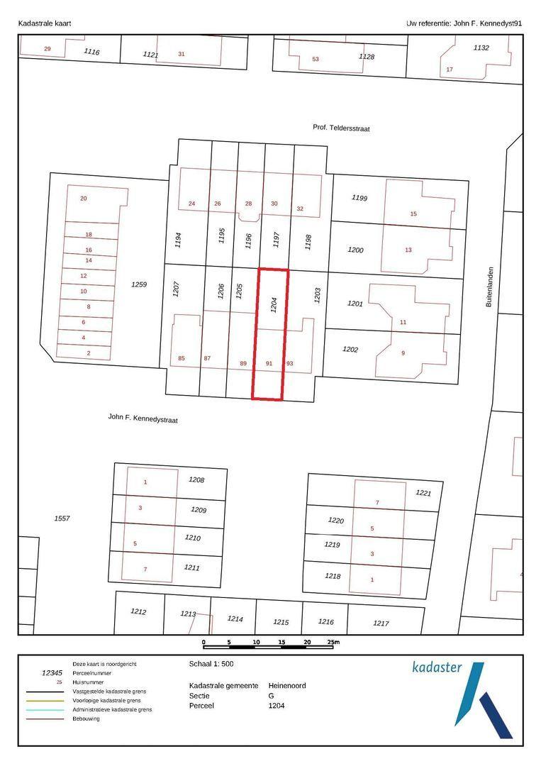 John F. Kennedystraat 91 plattegrond-33