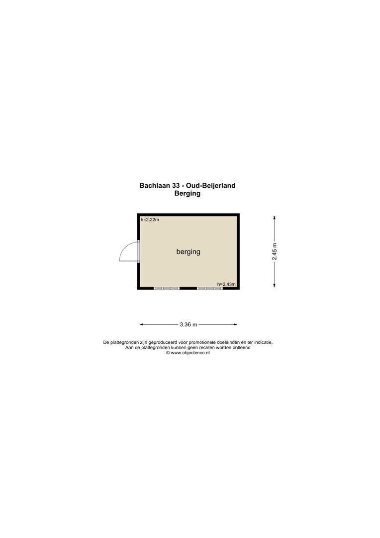 Bachlaan 33 plattegrond-42