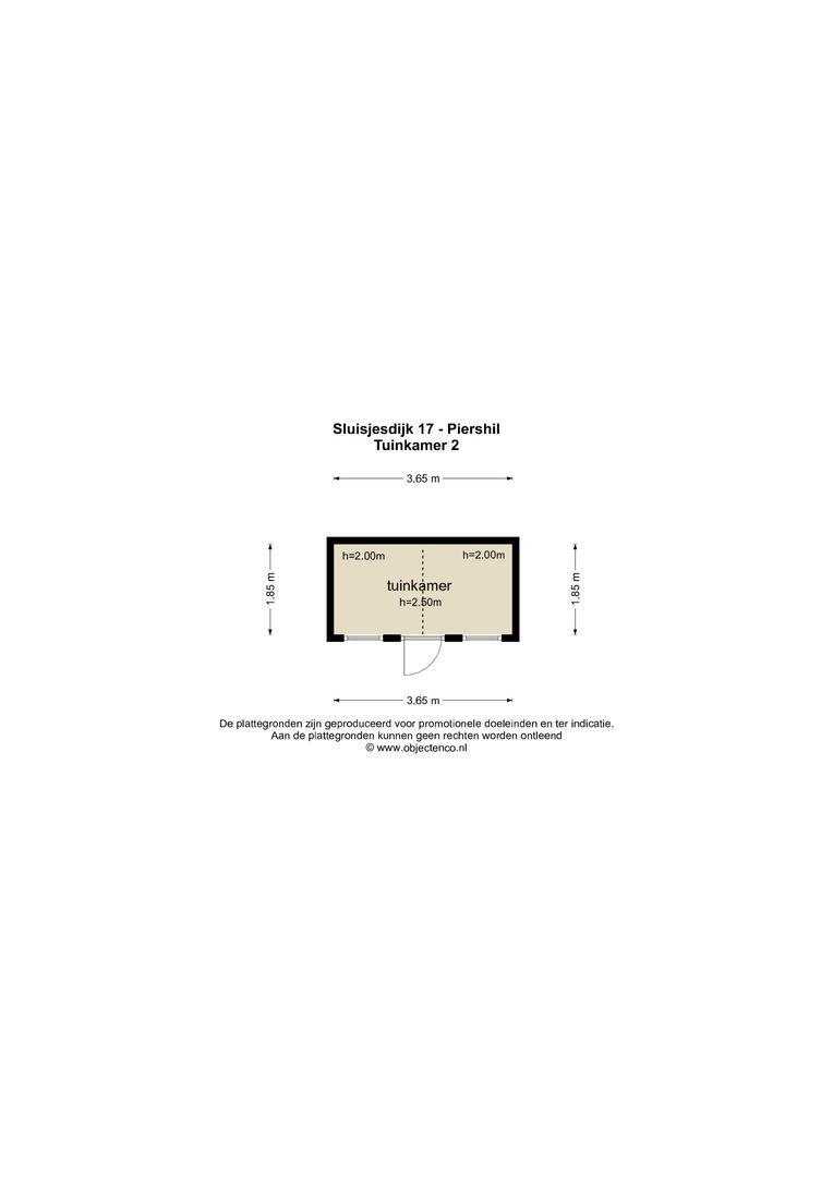Sluisjesdijk 17 plattegrond-57
