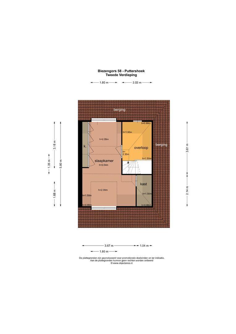 Biezengors 58 plattegrond-35