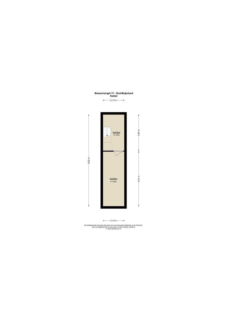 Boezemsingel 17 plattegrond-68