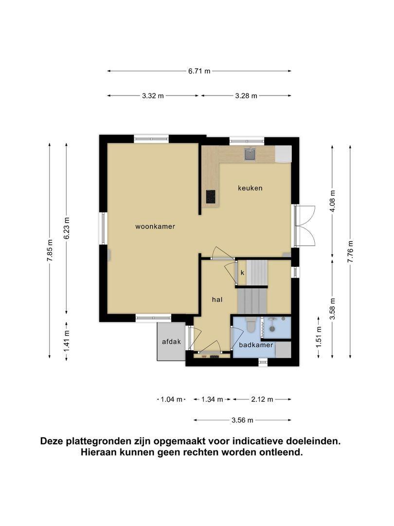 Koning Haakonstraat 13 plattegrond-50