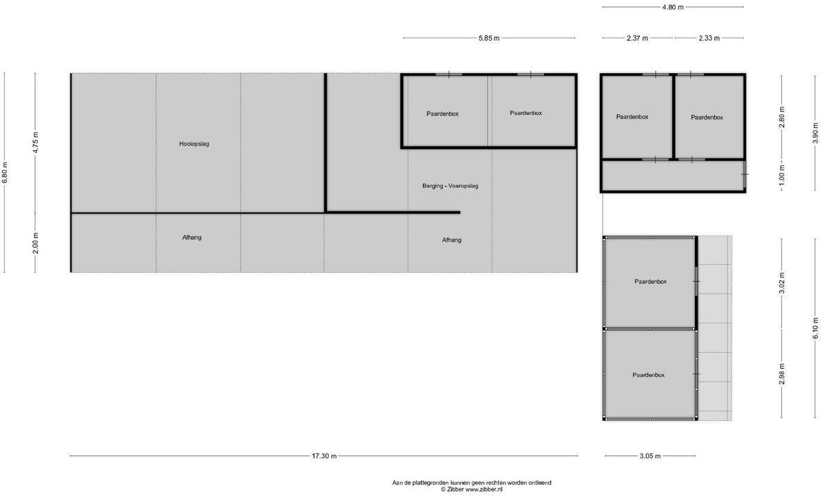 Hobbel 15, Riethoven plattegrond-