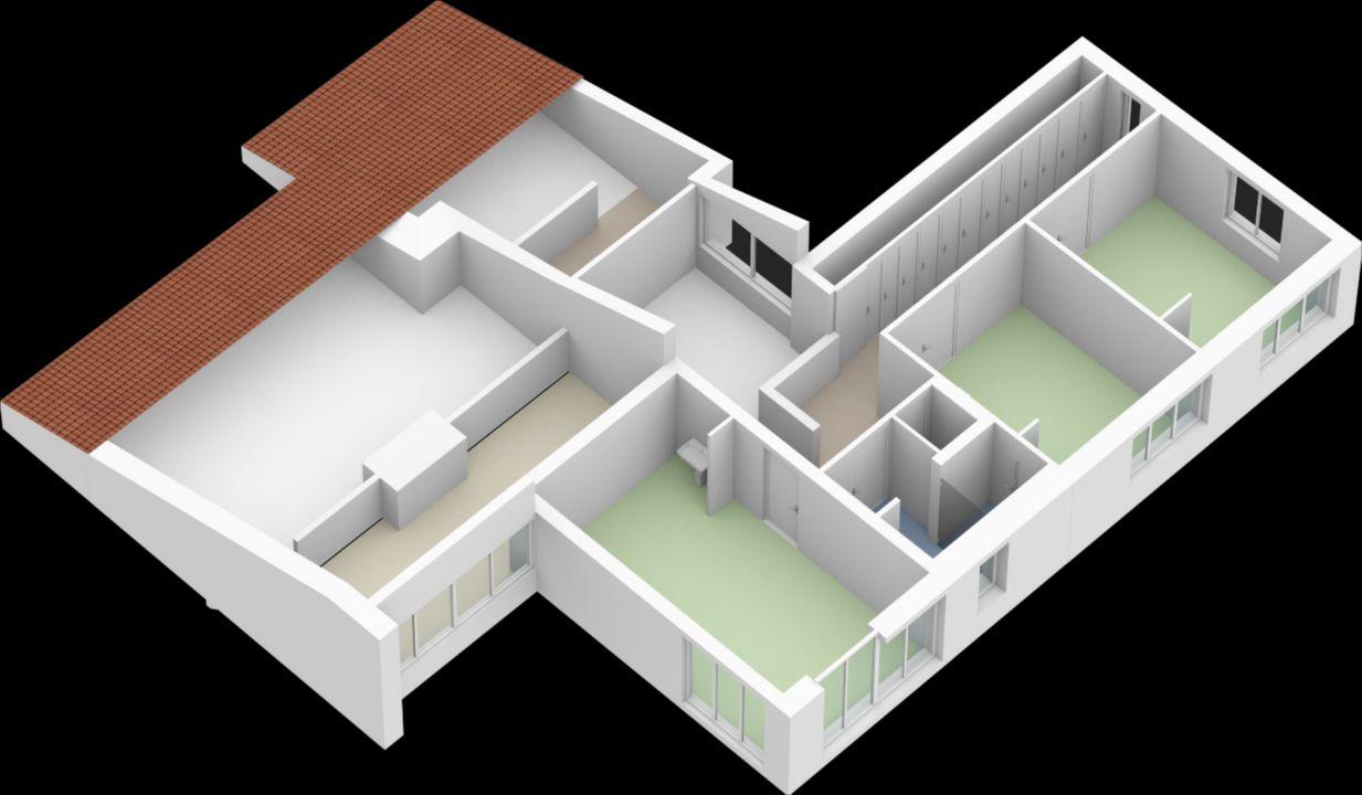 Dennenlaan 17, Valkenswaard plattegrond-