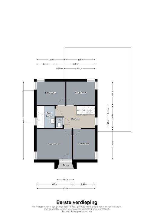 Meester Mertensstraat 6, Nederweert plattegrond-
