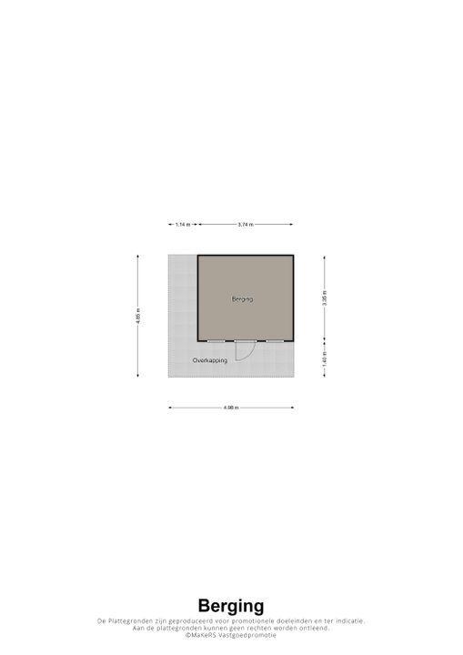 Hallenhof 9, Weert plattegrond-