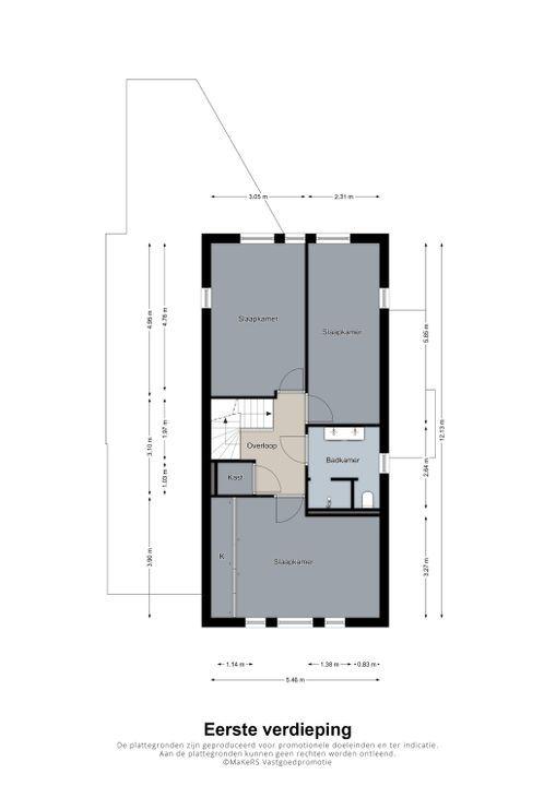 Siemkushofstraat 43, Weert plattegrond-
