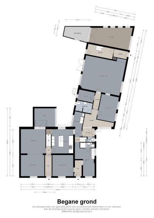 Dorpstraat 3, Leveroy plattegrond-