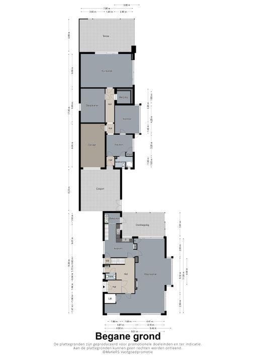 Biesstraat 25, Heythuysen plattegrond-