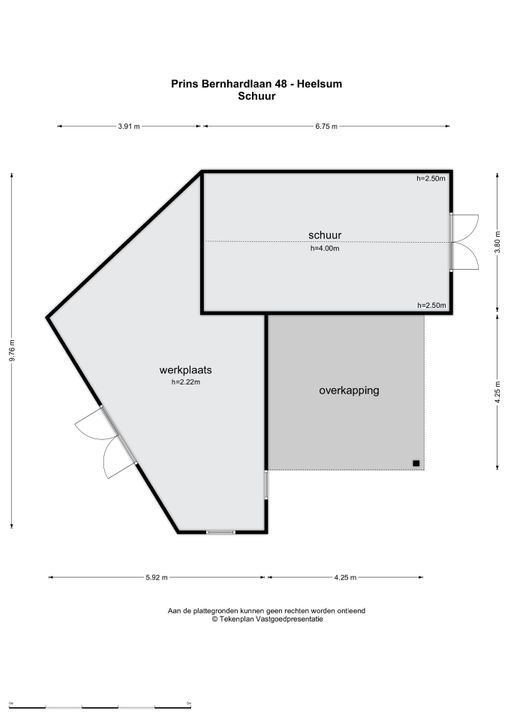 Prins Bernhardlaan 48, Heelsum plattegrond-