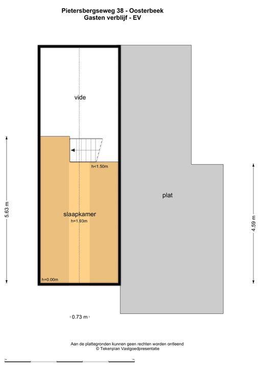 Pietersbergseweg 38, Oosterbeek plattegrond-