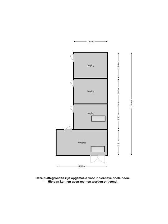 Scharweg 6, Terband plattegrond-