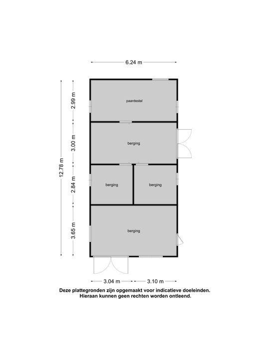 Job Holkemawijk 19, Jubbega plattegrond-