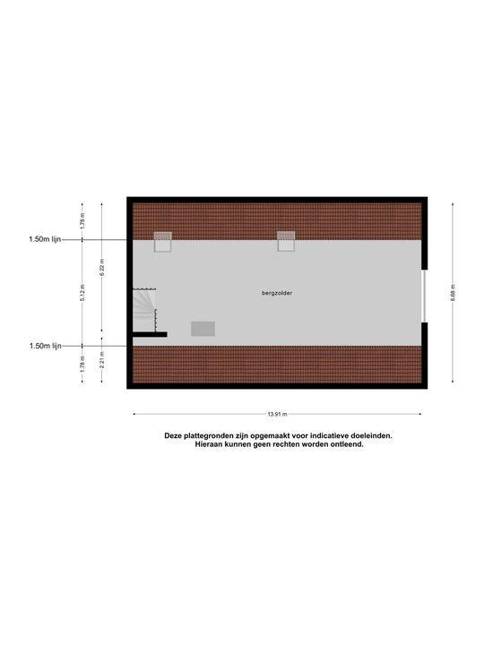 Petronella Moensstrjitte 22, Kubaard plattegrond-
