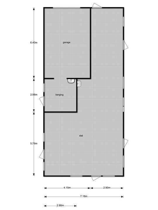 Rijsbergseweg 77 b, Etten-Leur plattegrond-