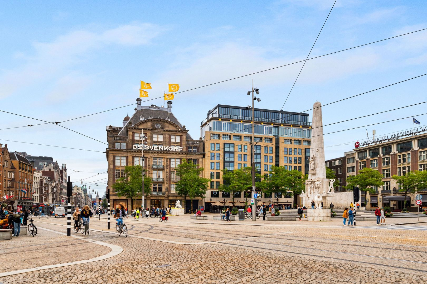 Dam 5 V, Amsterdam foto-
