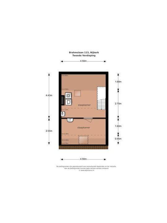 Brahmslaan 113, Nijkerk plattegrond-33