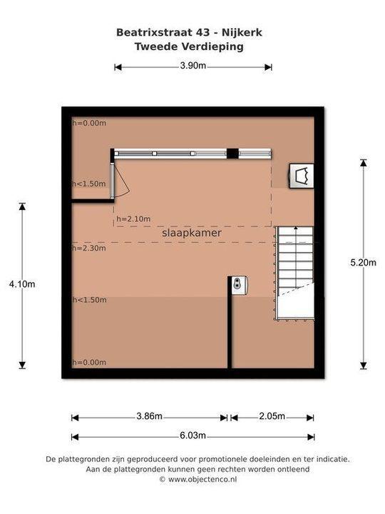Beatrixstraat 43, Nijkerk plattegrond-29