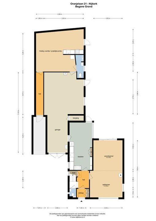 Oranjelaan 21, Nijkerk plattegrond-45