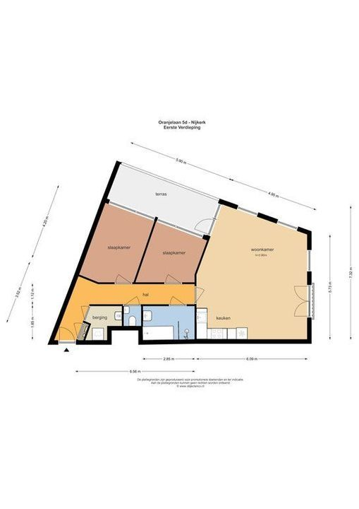 Oranjelaan 5 D, Nijkerk plattegrond-37