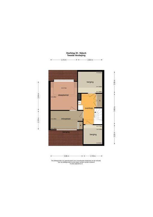 Hoefslag 39, Nijkerk plattegrond-39