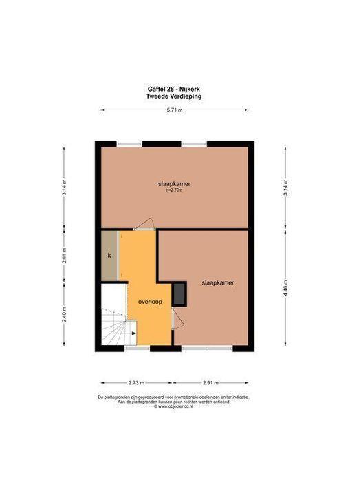 Gaffel 28, Nijkerk plattegrond-41