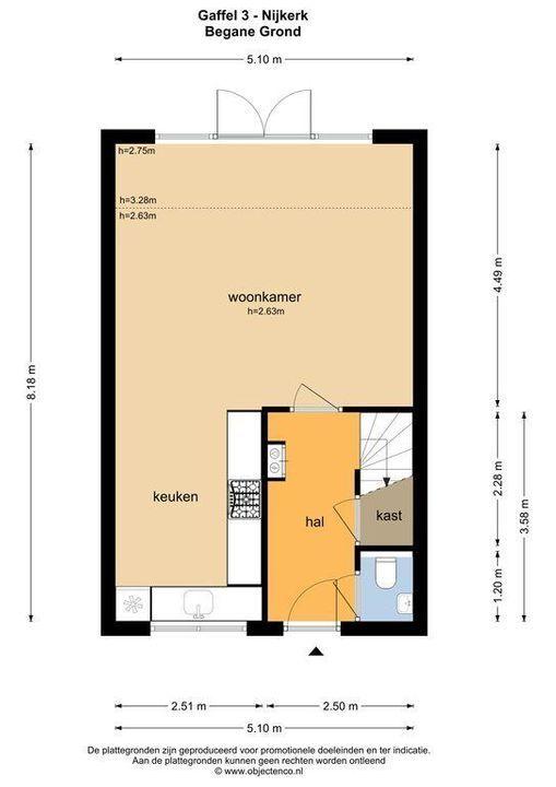 Gaffel 3, Nijkerk plattegrond-34