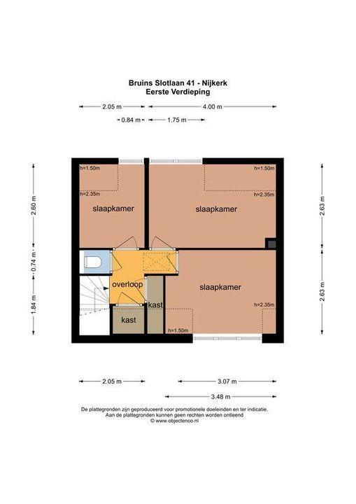 Bruins Slotlaan 41, Nijkerk plattegrond-32