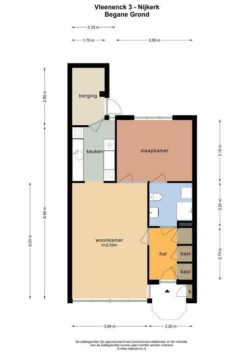 Vleenenck 3, Nijkerk plattegrond-29