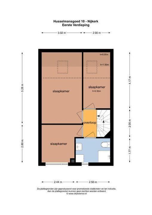 Husselmansgoed 10, Nijkerk plattegrond-31