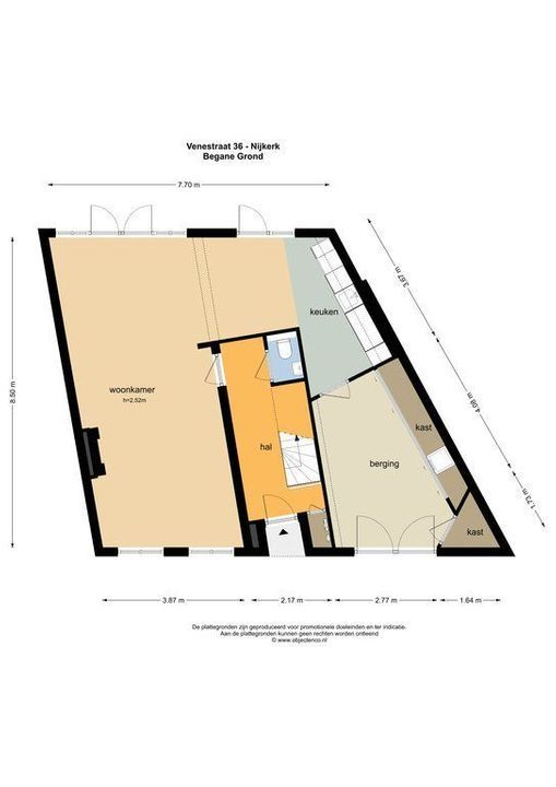Venestraat 36, Nijkerk plattegrond-52