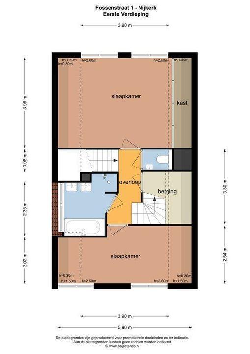 Fossenstraat 1, Nijkerk plattegrond-38