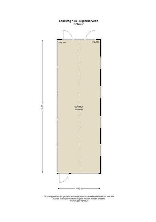 Laakweg 124, Nijkerkerveen plattegrond-29