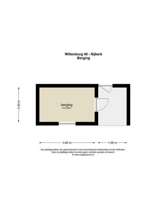 Wittenburg 40, Nijkerk plattegrond-41
