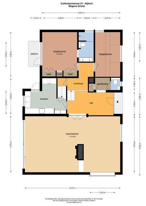 Callenbachstraat 21, Nijkerk plattegrond-46