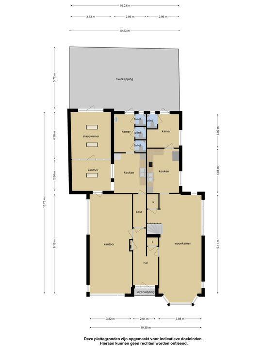 Dorpsstraat 2 4 en 2n, Nieuwerkerk A/d Ijssel plattegrond-