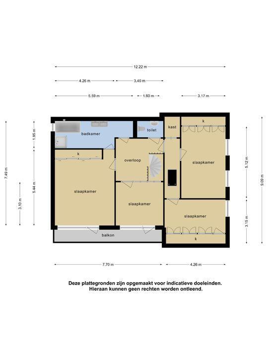 John F Kennedyplantsoen 6, Nieuwerkerk A/d Ijssel plattegrond-