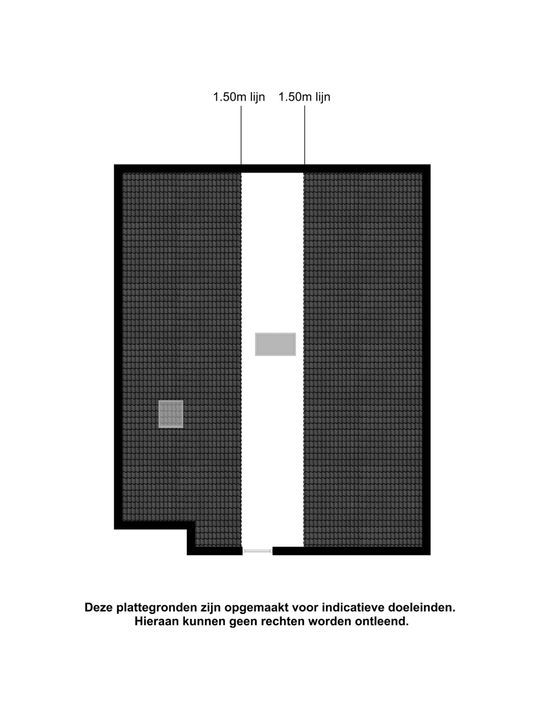 Knibbelweg 14 b, Zevenhuizen plattegrond-