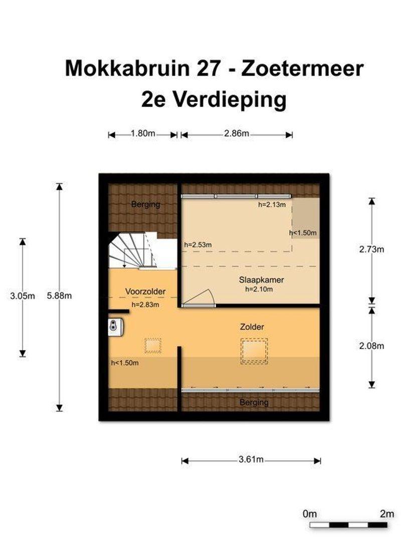 Mokkabruin 27, Zoetermeer foto-42
