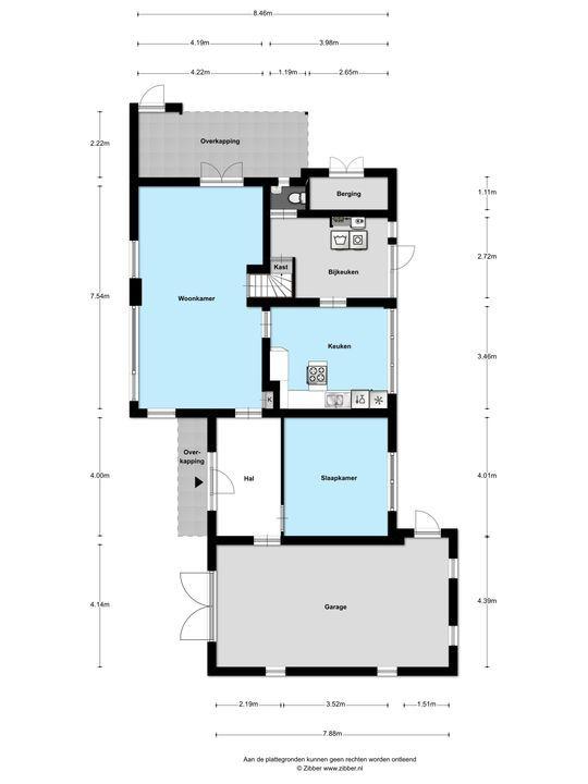 Burg de Zeeuwstraat 103, Numansdorp plattegrond-44