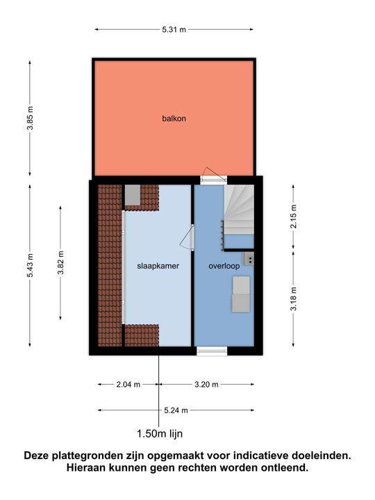 Bartokstraat 30, Oud-Beijerland plattegrond-29