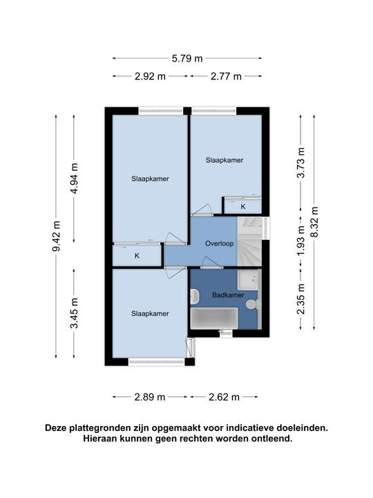 Mozartlaan 23, Oud-Beijerland plattegrond-30